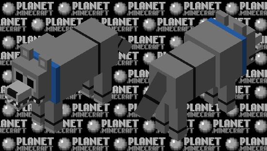 Fetch (Untamed Version) Minecraft Skin