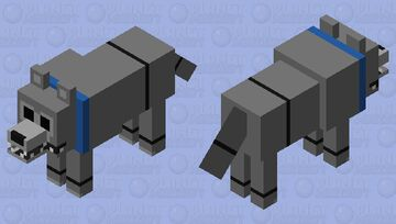 Fetch (Untamed Version) Minecraft Mob Skin