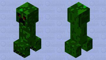 Explosive Vine Minecraft Mob Skin
