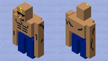 Golem of skin Minecraft Mob Skin