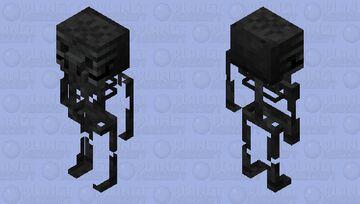 wither Skeleton Piglin / original textures Minecraft Mob Skin
