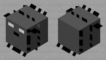 pufferfish shadow (large) Minecraft Mob Skin