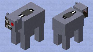 Cy-cow w/ m1lK vat Minecraft Mob Skin
