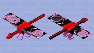M123PP Ender Dragon Minecraft Skin Minecraft Mob Skin