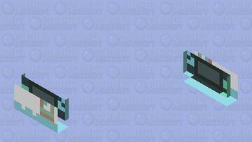 Nintendo switch console Minecraft Mob Skin