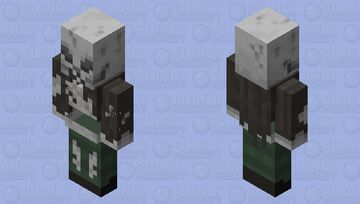 Cursed Illager Minecraft Mob Skin