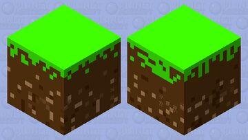 Dirt shulker Minecraft Mob Skin
