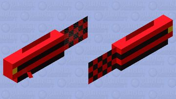 Fish but red Minecraft Mob Skin
