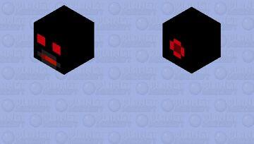 Robot Fireball Cannon Minecraft Mob Skin