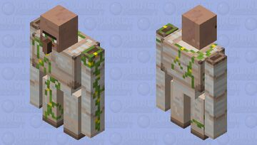 golem is mech suit i took off the head :D Minecraft Mob Skin