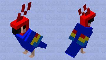 shirt parrot Minecraft Mob Skin