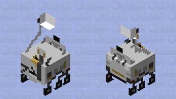 Perseverance Minecraft Mob Skin