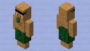Viga-Tar - Prehistoric Villager (Prehistoric Minecraft Mob Skin Contest Entry) Minecraft Mob Skin