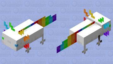 KyLen Da Axolotl (don't download please) Minecraft Mob Skin
