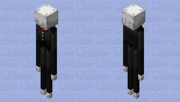 Slenderman Minecraft Mob Skin