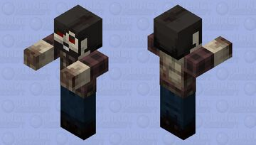 Zombie Hiker Minecraft Mob Skin
