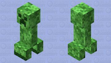 Jappa-style Creeper. Minecraft Mob Skin