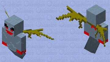 Angrier Vex Minecraft Mob Skin