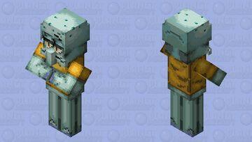 Squidward Testificatetacles Minecraft Mob Skin