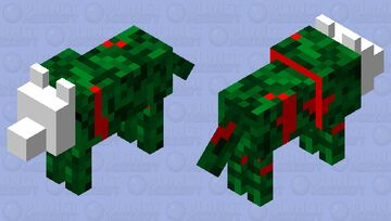 Head less but not faceless wolf? Minecraft Mob Skin