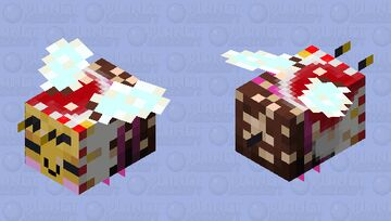 Sweeter (Christmas Edition - 128) - Happy with Pollen Minecraft Mob Skin