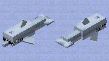 Shark Eating Fish Minecraft Mob Skin