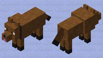 Cute Dog Minecraft Mob Skin