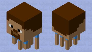 Ghast Steve Minecraft Mob Skin
