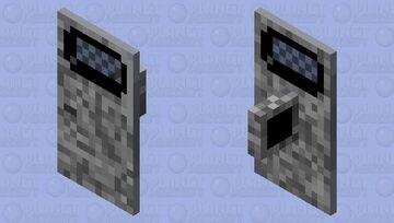 tarcza z drzwi Minecraft Mob Skin