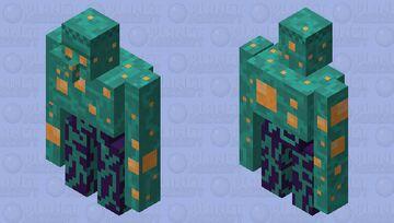 Warped Iron Golem Minecraft Mob Skin