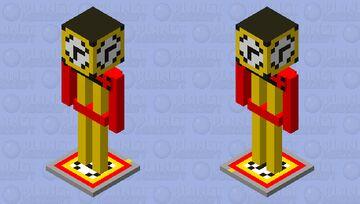 Alarmclock Armor stand Minecraft Mob Skin
