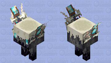 "Soulbone walker ""Will O wisp event by taorb07"" Minecraft Mob Skin"