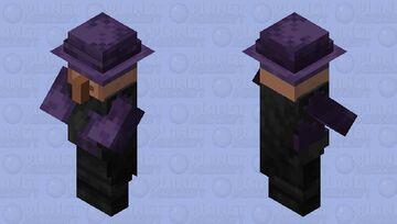 End Villager Minecraft Mob Skin