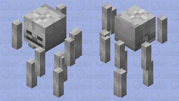 Minecraft texrure pack - Skeleton Blaze Minecraft Mob Skin