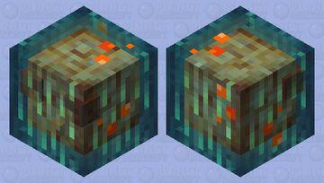 Warped Slime (biome swap) Minecraft Mob Skin