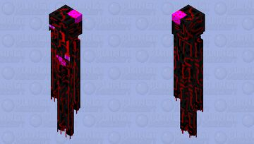 Zombie Enderman Minecraft Mob Skin