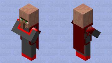 Minecraft goldguardians' edition: Redstone biome villager Minecraft Mob Skin