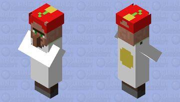He's looking pretty happy Minecraft Mob Skin