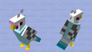 Sir Chirp Alot (my parakeet) Minecraft Mob Skin