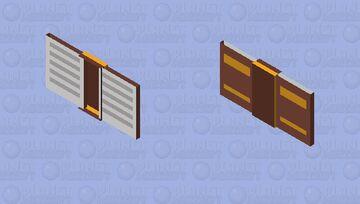 Flying Book (Bat Skin) Minecraft Mob Skin