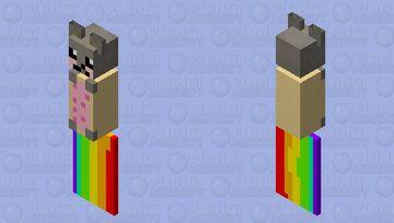 Nyan cat Bat Minecraft Mob Skin