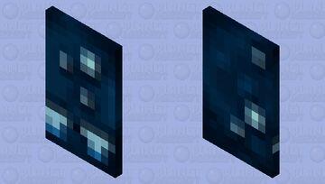Glow Cape Minecraft Mob Skin