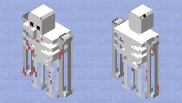 Bone golem Minecraft Mob Skin