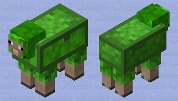 SLIME SHEEP Minecraft Mob Skin