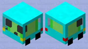 driving slime Minecraft Mob Skin