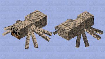 Desert Spider Minecraft Mob Skin