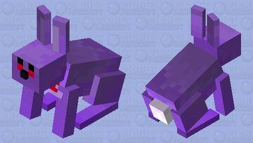 bonnie the minecraft bunny Minecraft Mob Skin