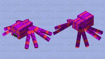 Eight-legged nightmare Minecraft Mob Skin