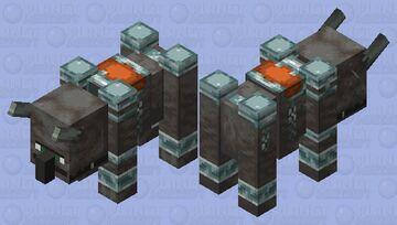 Facial Villager ravager Minecraft Mob Skin