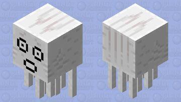 Shocked gahst Minecraft Mob Skin